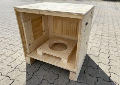 Kitze KKI Exportverpackung Transportverpackung aus Holz oder Sperrholz Paletten Böden